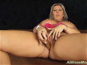 My humungous jug insatiable mommy alone at home