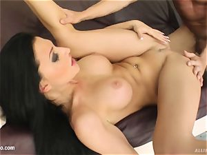 muddy internal ejaculation episode with superhot Aletta Ocean from A
